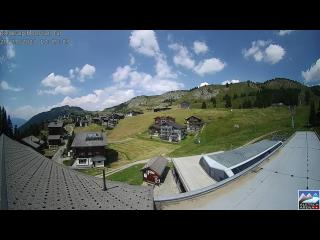 temps Webcam Riederalp (Valais)