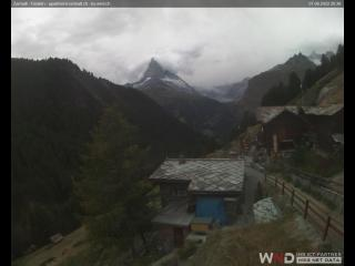 temps Webcam Zermatt (Valais, Matterhorn)