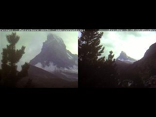 Webcam Zermatt (Wallis, Matterhorn)
