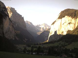 weather Webcam Lauterbrunnen (Bernese Oberland)