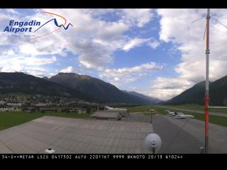 Wetter Webcam Samedan (Engadin)