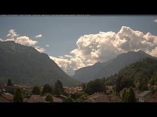 Wetter Webcam Interlaken (Berner Oberland, Thunersee, Brienzersee)