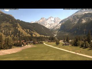 weather Webcam Kandersteg (Bernese Oberland, Kandertal)