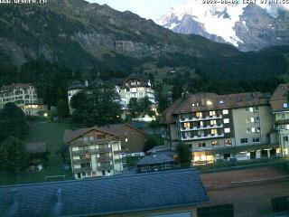 weather Webcam Wengen (Bernese Oberland, Jungfrau Region)