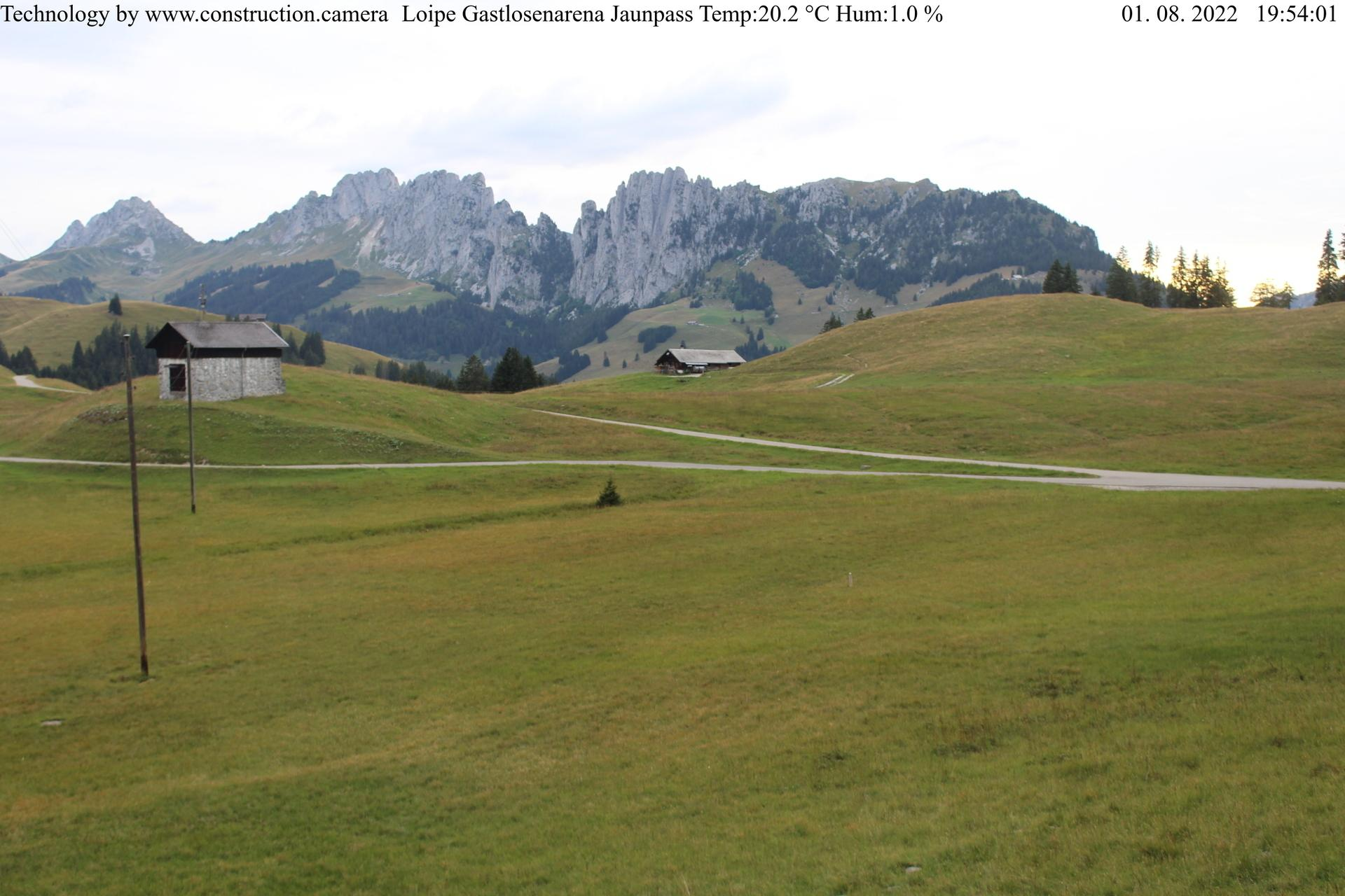 Preview Wetter Webcam Jaunpass Gastlosen