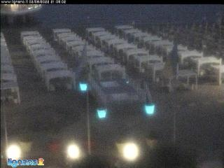 Weather Webcam Lignano Sabbiadoro (Adria)
