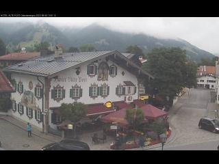 oberammergau webcam alte post