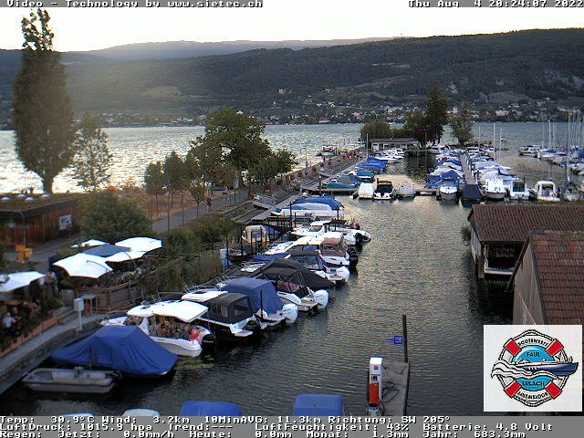 Preview Wetter Webcam Erlach (Bielersee)
